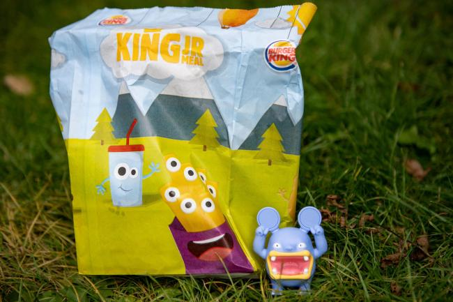 A Burger King toy from one of their children's meals