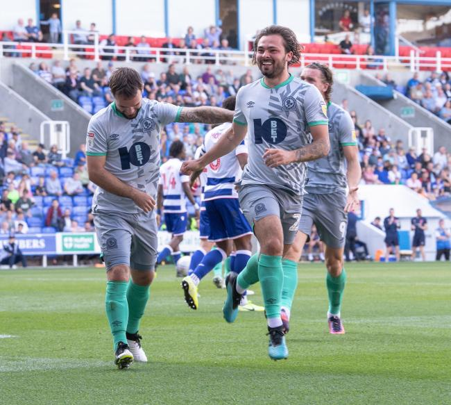 Bradley Dack scored his 40th Rovers goal in his 100th appearance