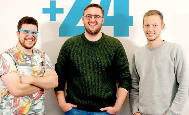 Simon Jacobs, Josh Green and Dan Willmott have joined +24 Marketing in Burnley