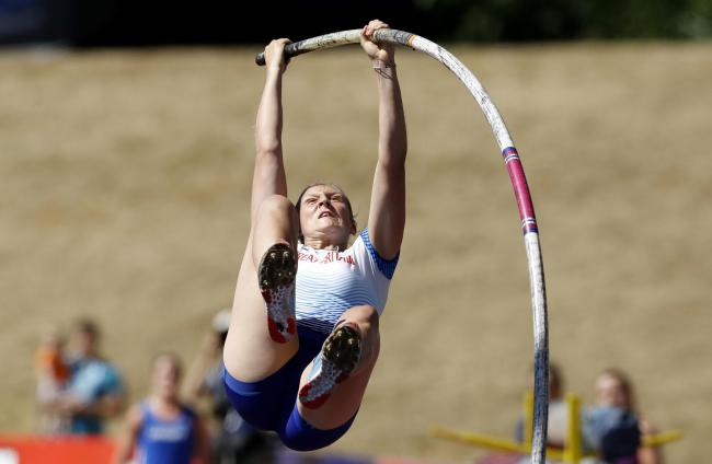 Holly Bradshaw will compete in the pole vault at the World Championships in Doha
