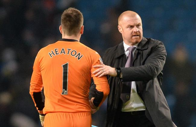 Sean Dyche and Tom Heaton enjoyed great success together at Turf Moor