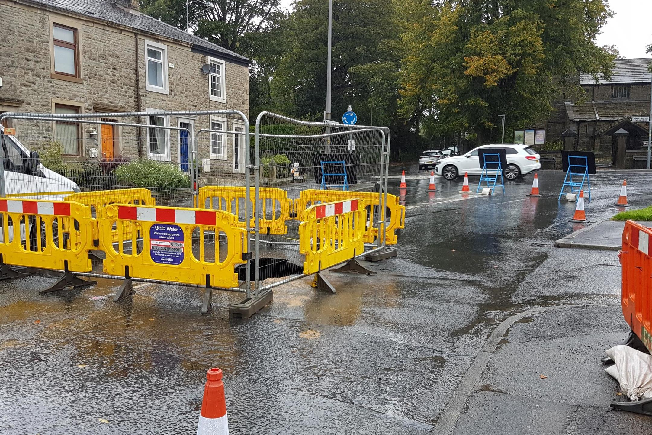 Hole in carriageway could cause road closure headache in