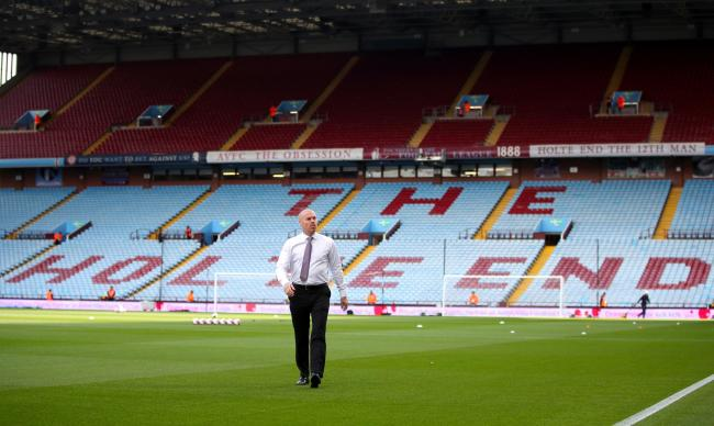 Sean Dyche at Villa Park
