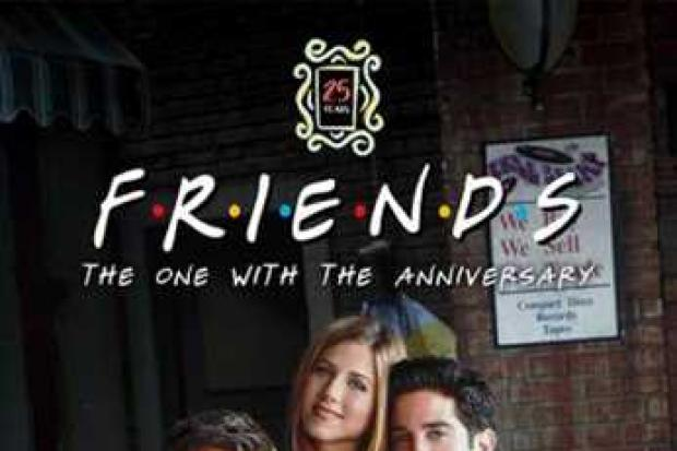 Three Friends marathons coming to cinema screens this Christmas. Pic credit: Vue Cinemas