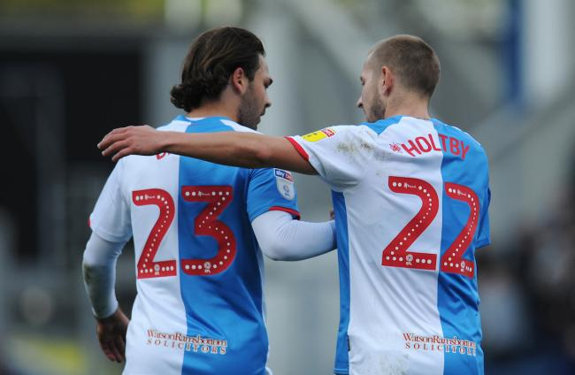 Lewis Holtby and Bradley Dack were on target for Rovers in the draw with Huddersfield Town at Ewood Park