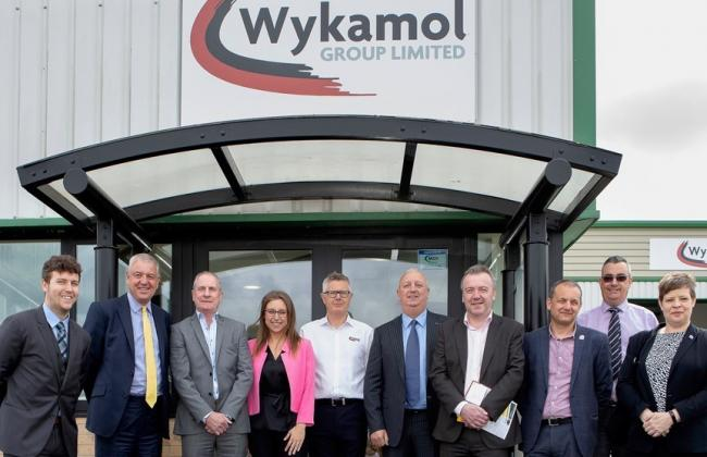 Staff at Burnley-based Wykamol