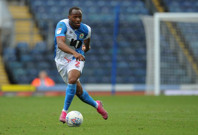 Ryan Nyambe made his first Championship appearance of the season against Huddersfield Town