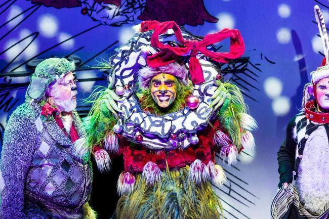 "World inspired by ""Dr Seuss' How The Grinch Stole Christmas! The Musical is coming to the Lowry Outlet"