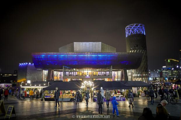 Lancashire Telegraph: Christmas Market at The Lowry
