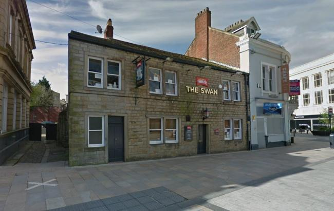 The Swan pub in Burnley