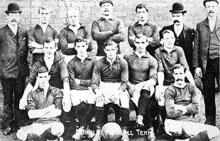 BLAST FROM THE PAST: Burnley's side at the turn of the 20th century
