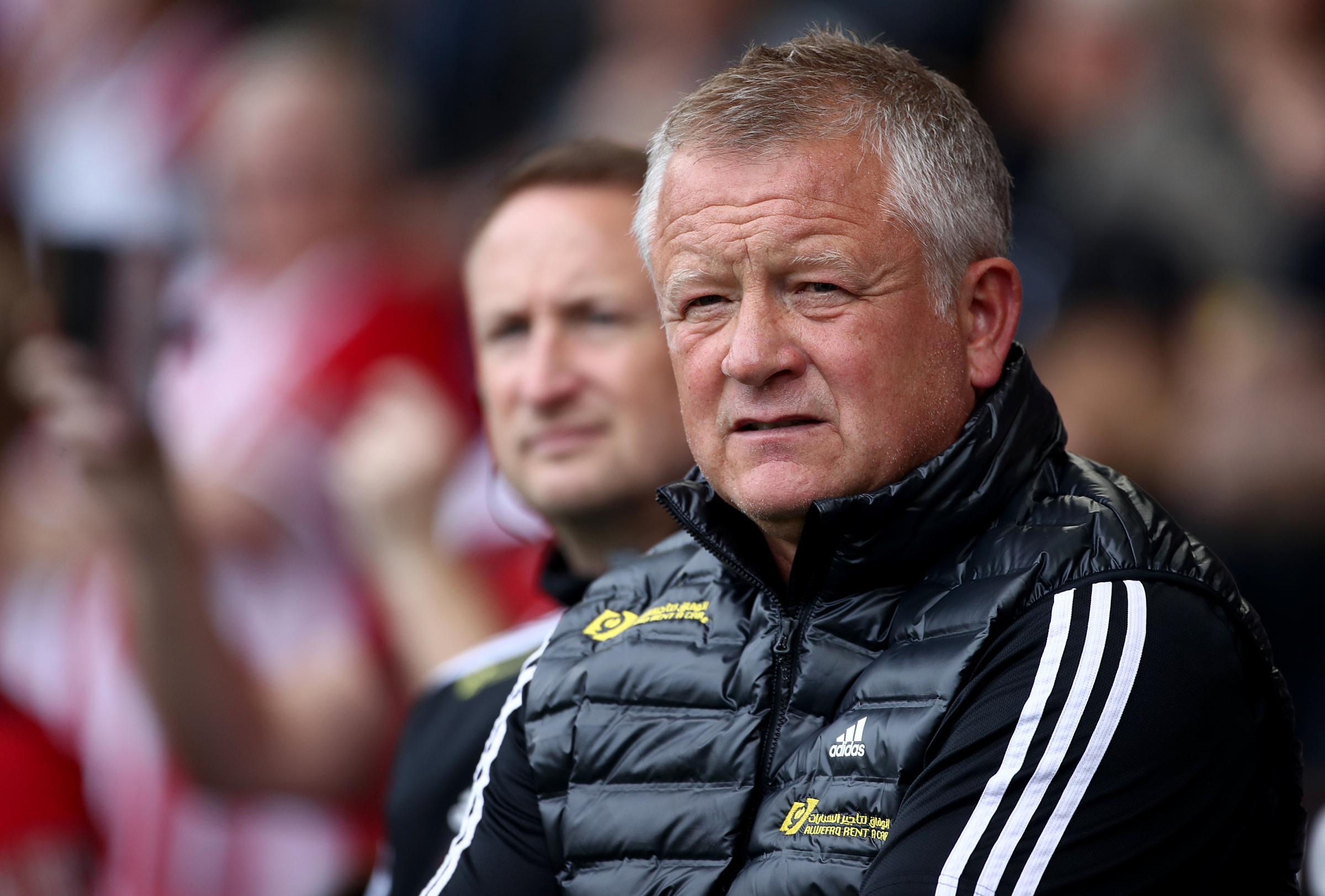 Sean Dyche reveals mutual respect for Chris Wilder