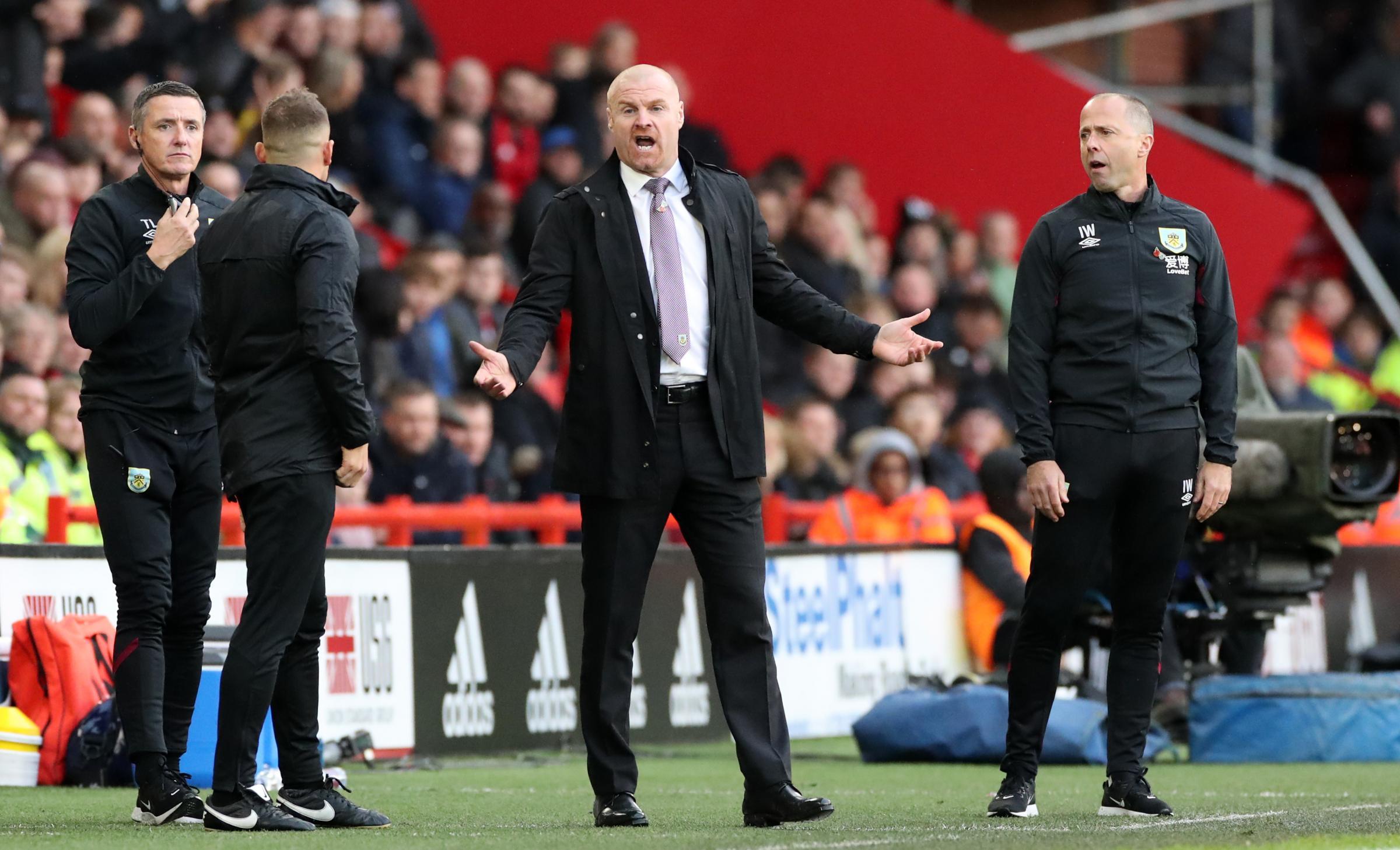 Sean Dyche labels Sheffield United first half as worst display since last season