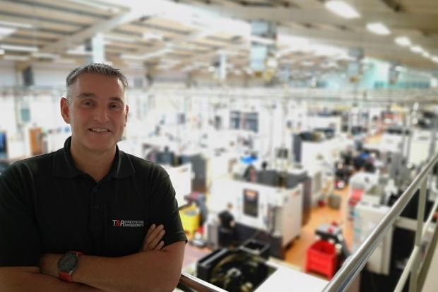 Tim Maddison, managing director of T&R Precision, based in Foulridge, which has benefitted from involvement with Made Smarter, the digital innovation agency