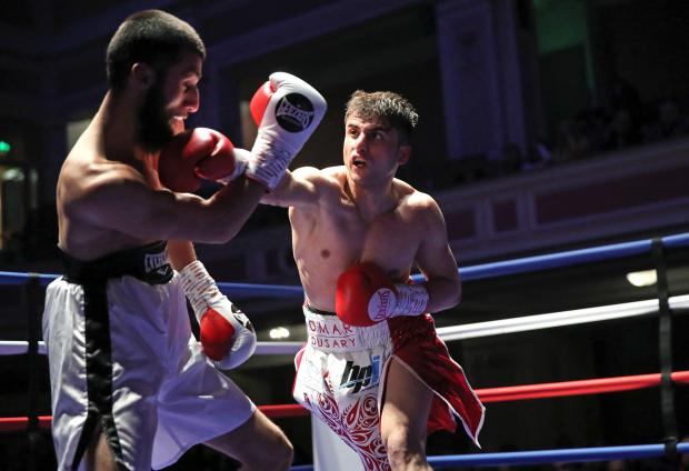 Lancashire Telegraph: Omar Dusary on his way to victory