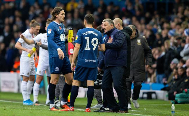 Tony Mowbray saw his side beaten 2-1 at Leeds United