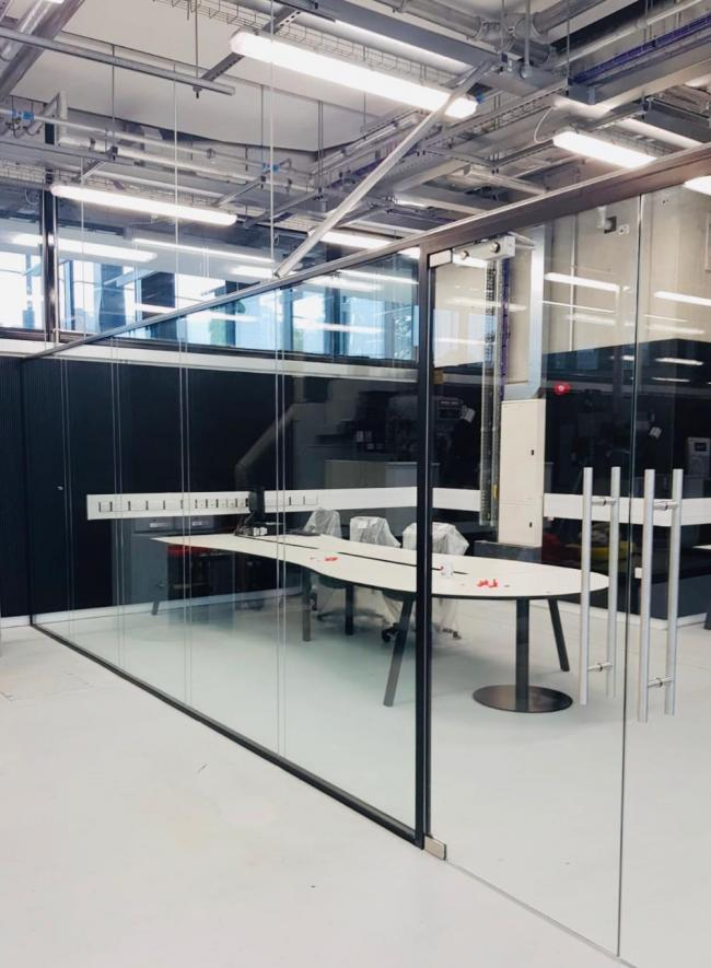 Altitude Glass completed a major installation job for UCLan's new £35million engineering innovation centre in Preston