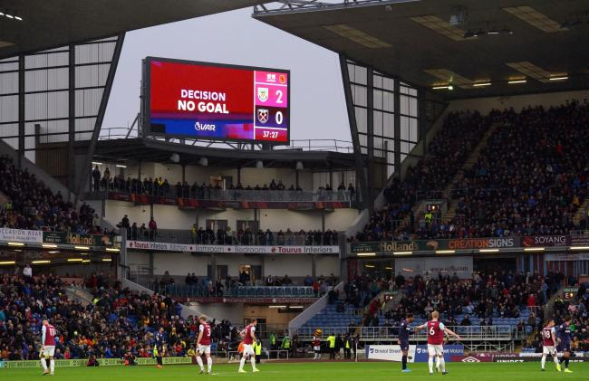 VAR has its say at Turf Moor on Saturday