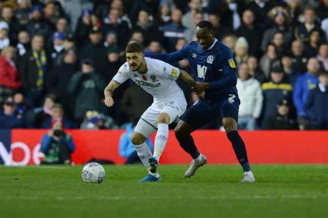 Ryan Nyambe started Rovers' defeat at Leeds, but missed the Barnsley win with illness