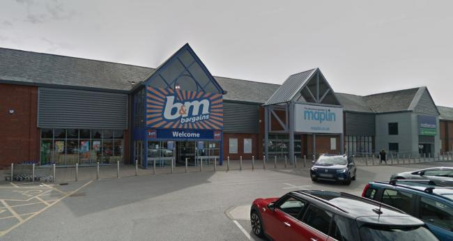 B&M Bargains is hoping to expand its store at the Blackburn Retail Park