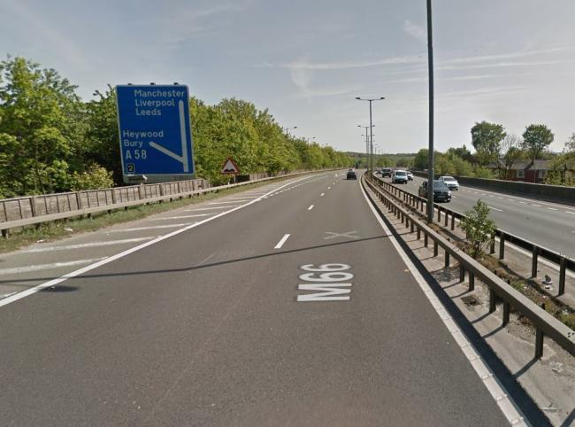 The M66. Picture, Google Maps