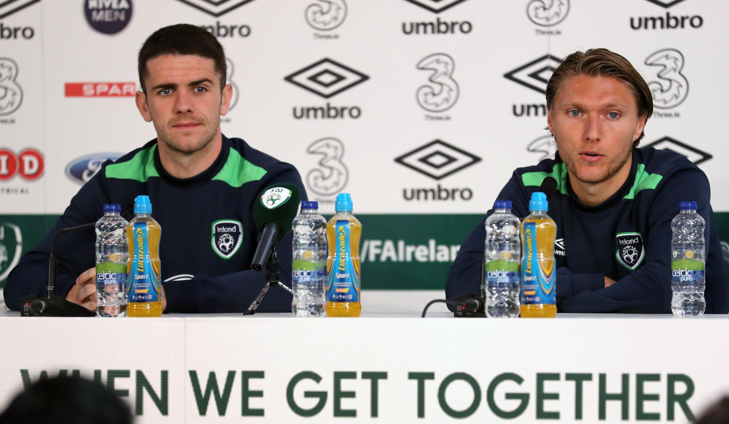 Jeff Hendrick backs Robbie Brady to shine for Republic of Ireland