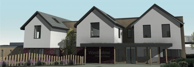 How the new Westholme buildings will look if plans are approved.