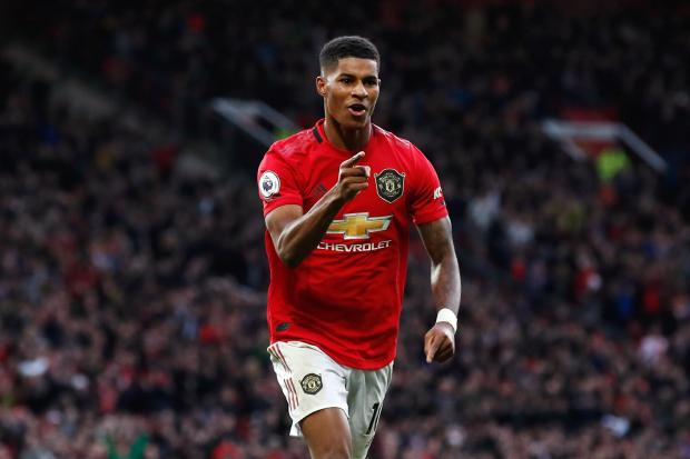 Marcus Rashford believes Manchester United's high standards help him cope with pressure