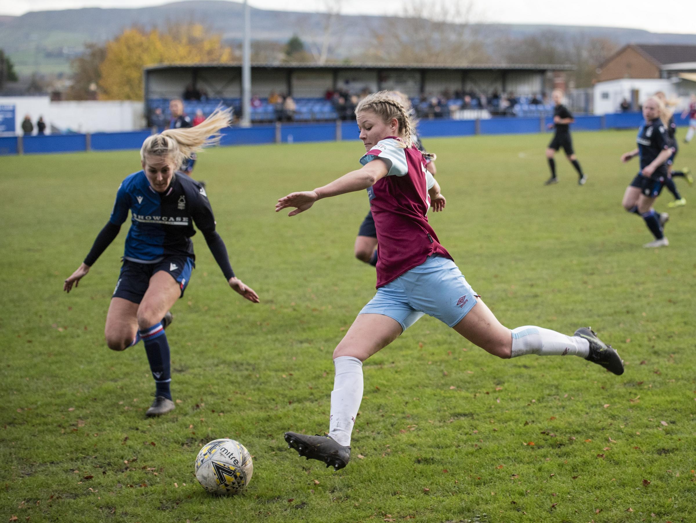 Burnley FC women suffer first league defeat of season