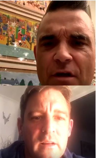 Robbie Williams and Blackburn dad chat '90s raves and going sober - Lancashire Telegraph