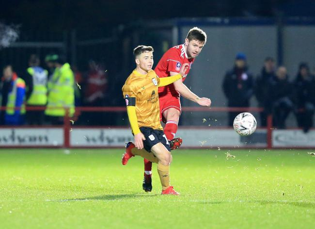 Stanley were knocked out of the FA Cup by League Two side Crewe Alexandra