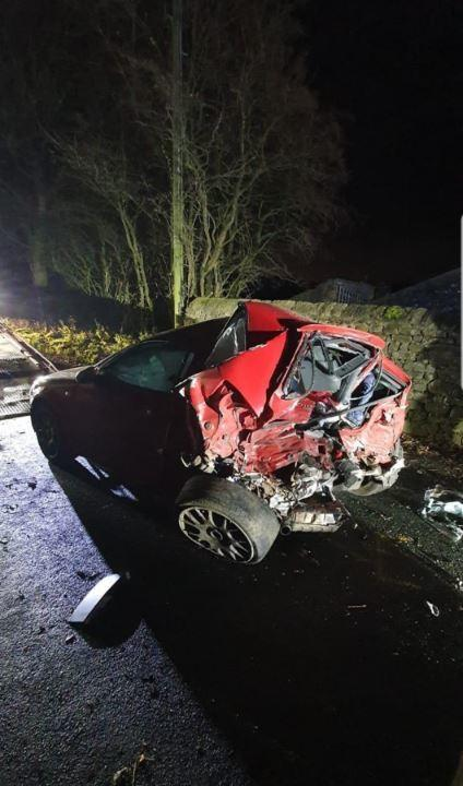 Man And Woman Rushed To Hospital After Smash On Country Road