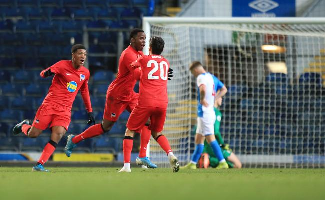 Rovers were beaten 2-0 by Hertha Berlin at Ewood Park