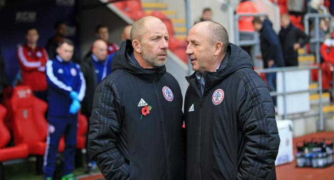 Jimmy Bell and John Coleman have seen their side struggle for goals and points of late