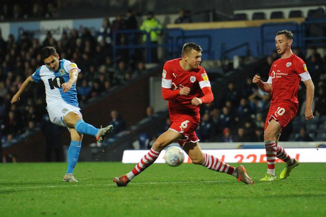Stewart Downing fired home Rovers' second goal after coming off the bench