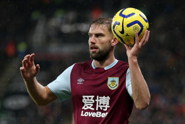 Burnley's Charlie Taylor