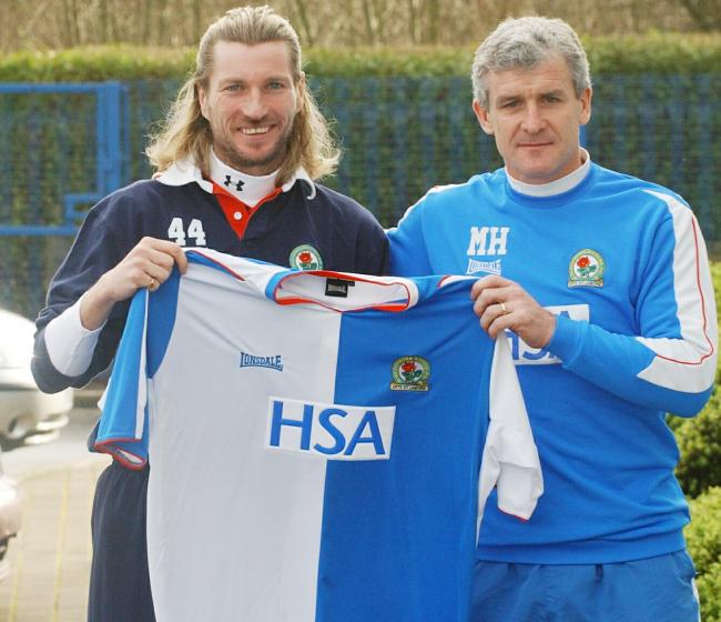Robbie Savage was signed by Mark Hughes in January 2005
