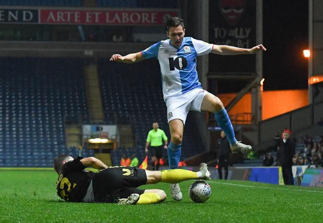 Stewart Downing started at left back for Rovers in their win over Brentford