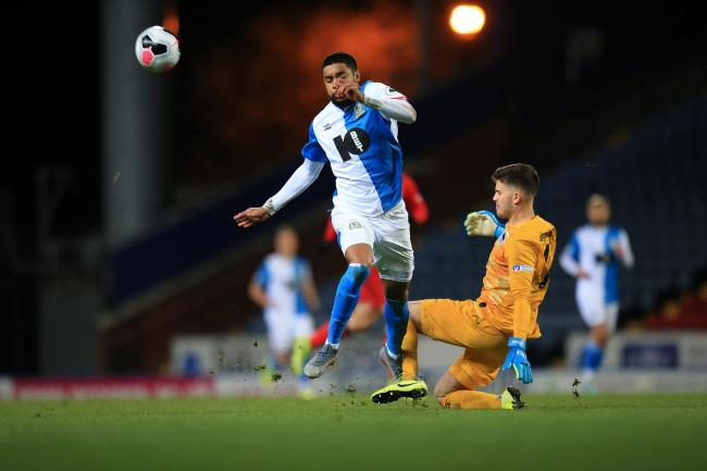 Dominic Samuel was on target for Rovers