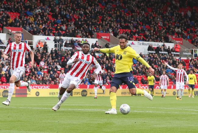 Danny Graham netted for Rovers in their win at Stoke City last season