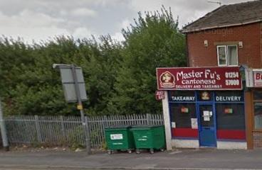 Master Fu's takeaway, Blackburn