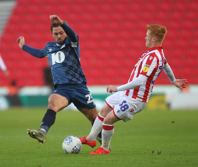 A goal and an assist for Bradley Dack in Rovers' win at Stoke City