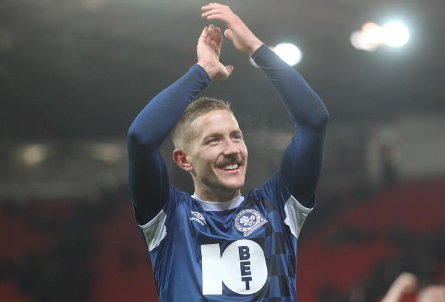 Lewis Holtby came off the bench in Rovers' win at Stoke City