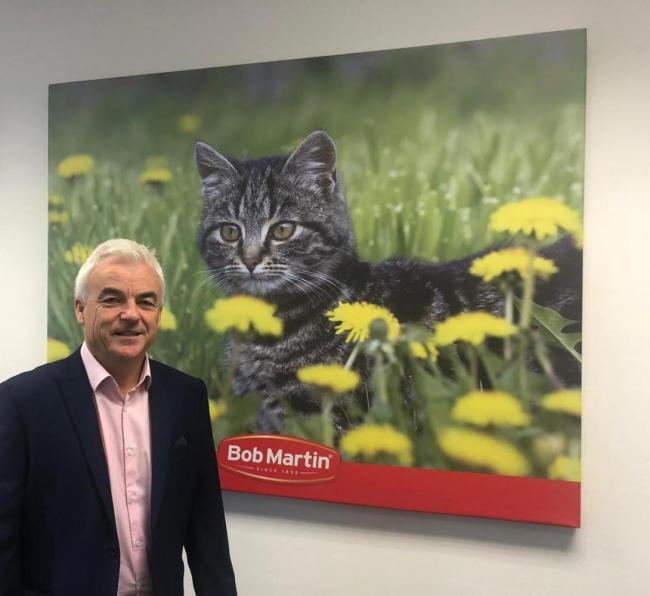 Tony Raeburn, Pets Choice chief executive, has welcomed Bob Martin into the Blackburn firm's fold