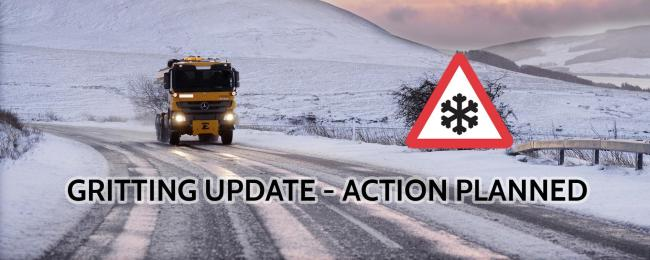 Gritting planned for tonight