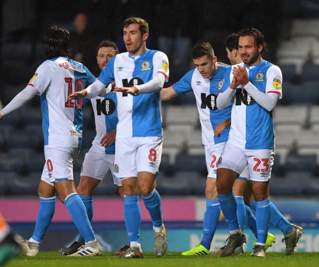 Rovers celebrate Bradley Dack's winner against Brentford
