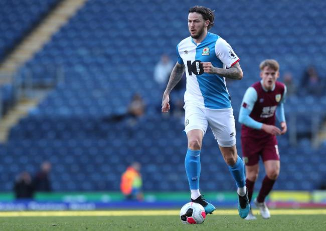 Ben Gladwin played 45 minutes for Rovers Under-23s against Burnley last week. PIC: BRFC