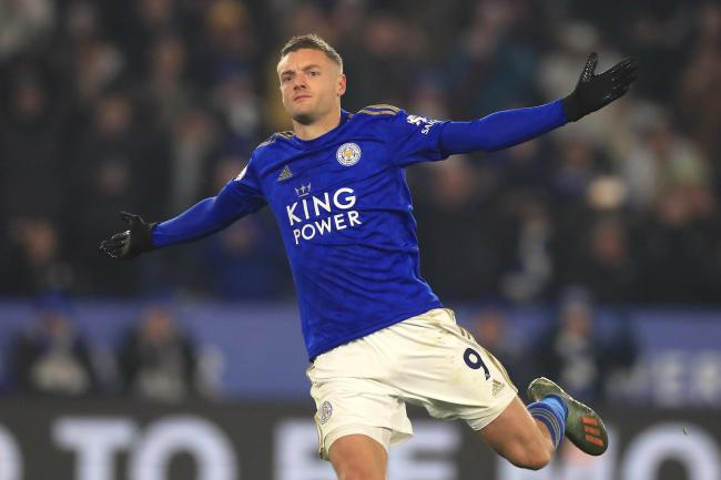 Jamie Vardy has scored in seven consecutive matches