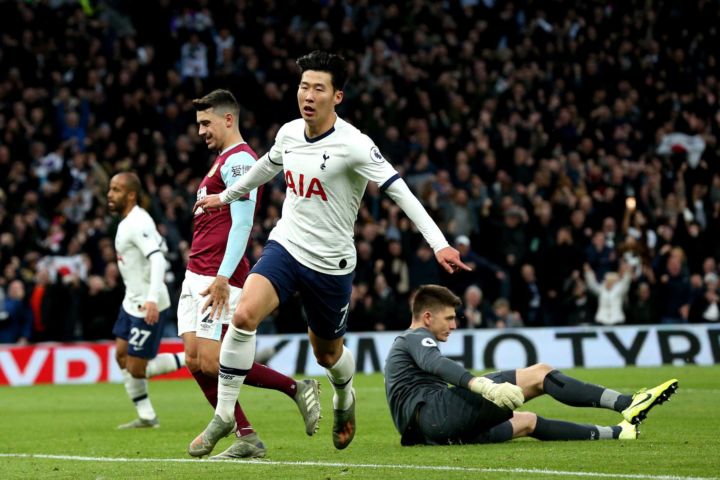Burnley fan, 13, allegedly racially abused Son Heung-min