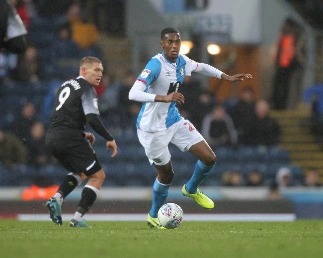 Tosin Adarabioyo is on loan at Rovers from Manchester City